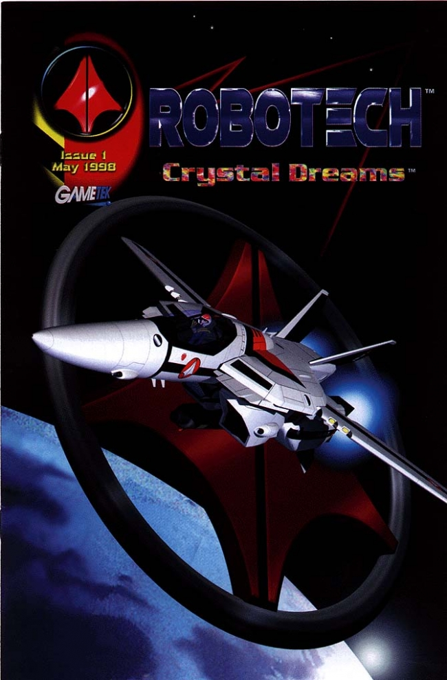 Robotech crystal dreams comic
